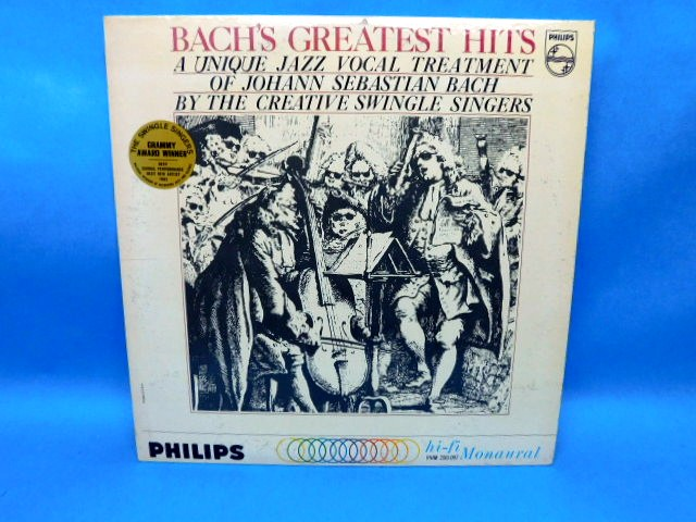 Swingle Singers Bachs Greatest Hits