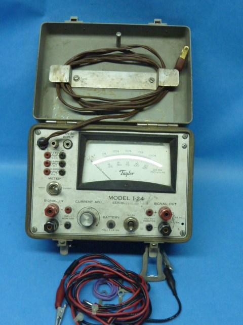 Amp Electrical Meters : Model i taylor amp voltage meter dc input vintage